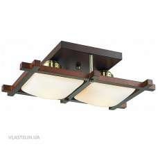 Люстра Altalusse INL-3092C-02 Antique brass & Walnut