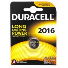Батарейка Duracell  bat Litium CR2016 3V, 1шт в упаковке