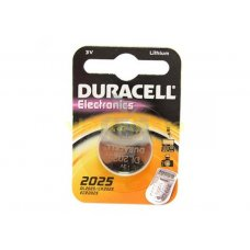 Батарейка Duracell  bat Litium CR2025 3V, 1шт в упаковке