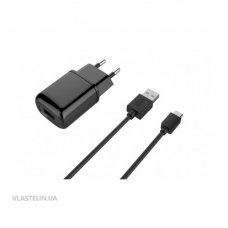Зарядка USB Havit HV-ST809+Macro USB cable/1USB/2A (1925)