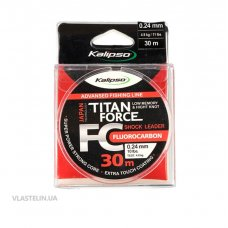 Флюорокарбон Kalipso Titan Force FC Leader 0.28 мм 30 м