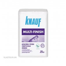 Шпаклевка Knauf Multi-Finish Финиш 25 кг